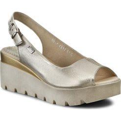 Rzymianki damskie: Sandały SIMEN – 6812  K. Złoto