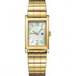 Tommy Hilfiger - Zegarek 1781836. Brązowe zegarki damskie marki TOMMY HILFIGER, szklane. Za 619,90 zł.