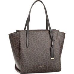 Shopper bag damskie: Torebka CALVIN KLEIN BLACK LABEL – Frame Large Shopper K60K604170  225
