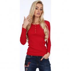 Czerwona bluzka na co dzień 1906. Czerwone bluzki damskie Fasardi, l. Za 49,00 zł.