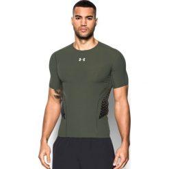 Under Armour Koszulka męska Zone Compression Short Sleeve zielona r. L (1289555-330). Zielone koszulki sportowe męskie marki Under Armour, l. Za 200,00 zł.