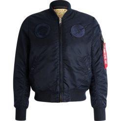 Alpha Industries NASA Kurtka Bomber all rep blue. Czarne kurtki męskie bomber marki Alpha Industries, m, z aplikacjami. Za 759,00 zł.