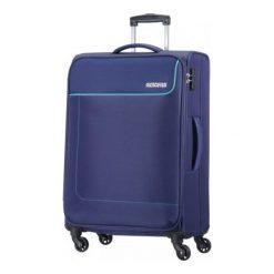 American Tourister Walizka Funshine 66cm Granatowa. Niebieskie walizki American Tourister. W wyprzedaży za 299,00 zł.