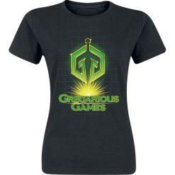 Bluzki asymetryczne: Ready Player One Gregarious Games Koszulka damska czarny