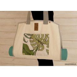 Torba na akcesoria do jogi/ Jungle. Brązowe torebki klasyczne damskie Pakamera, z tkaniny, duże. Za 239,00 zł.
