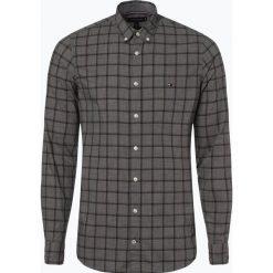 Tommy Hilfiger - Koszula męska, szary. Szare koszule męskie na spinki marki House, l, z bawełny. Za 399,95 zł.