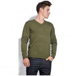 William De Faye Sweter Męski Xxl Zielony. Czarne swetry klasyczne męskie marki Polo Club C.H..A, m, dekolt w kształcie v. Za 259,00 zł.