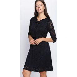 Sukienki: Czarna Sukienka Perfect Illusion