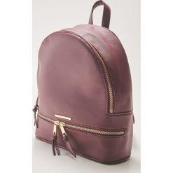 Plecak - Bordowy. Czerwone plecaki damskie marki House. Za 79,99 zł.