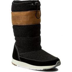 Kozaki NAPAPIJRI - Rabina 15743156 Black N00. Szare buty zimowe damskie marki Napapijri, z dzianiny. W wyprzedaży za 339,00 zł.