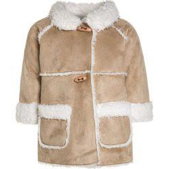 Benetton BABY Płaszcz wełniany /Płaszcz klasyczny ochre. Brązowe kurtki chłopięce marki Benetton, z materiału. W wyprzedaży za 135,20 zł.