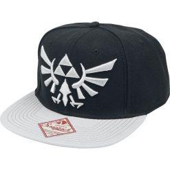 The Legend Of Zelda Logo Czapka Snapback czarny. Czarne czapki z daszkiem damskie The Legend Of Zelda, z haftami. Za 99,90 zł.