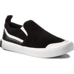 Trampki CALVIN KLEIN JEANS - Dacio S1756 Black/White/Black. Czarne trampki męskie marki Calvin Klein Jeans, z gumy. Za 519,00 zł.