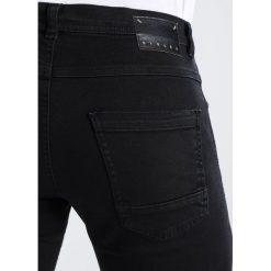 Sisley Jeansy Slim Fit black. Czarne jeansy męskie relaxed fit marki Sisley, l. W wyprzedaży za 279,30 zł.