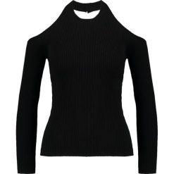 Bluzki asymetryczne: Cameo Collective NO RETURN Bluzka z długim rękawem black