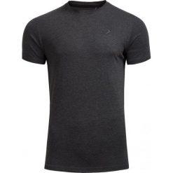 T-shirt męski TSM600 - CIEMNY SZARY MELANŻ - Outhorn. Czarne t-shirty męskie marki Outhorn, na lato, z bawełny. W wyprzedaży za 20,99 zł.