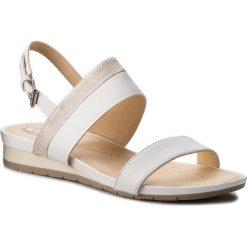 Sandały damskie: Sandały GEOX – D Formosa C D7293C 085GL C0007 White/Silver