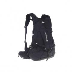 Plecak turystyczny FH900 Helium 27 l. Czarne plecaki damskie QUECHUA, z materiału. W wyprzedaży za 139,99 zł.