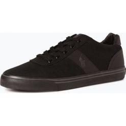 Buty: Polo Ralph Lauren - Tenisówki męskie z dodatkiem skóry, czarny
