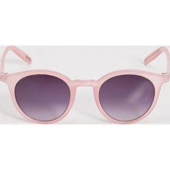 Okulary przeciwsłoneczne damskie: Okulary przeciwsłoneczne – Różowy