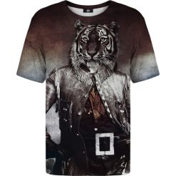 T-shirty damskie: T-shirt ze wzorem Colonel Tiger