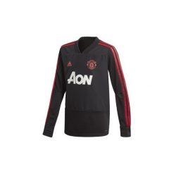 T-shirty z długim rękawem adidas  Bluza treningowa Manchester United. Czarne bluzy męskie rozpinane Adidas, m, z długim rękawem, długie. Za 249,00 zł.