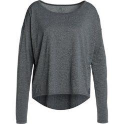 Bluzki asymetryczne: Skins PIXEL LONG SLEEVE TEE Bluzka z długim rękawem black/marle