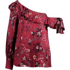 Bluzki asymetryczne: Bardot MILLY FLORAL Bluzka red
