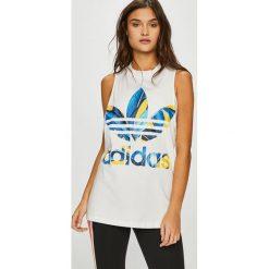 Adidas Originals - Top. Szare topy damskie adidas Originals. W wyprzedaży za 119,90 zł.