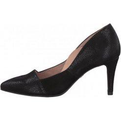 Tamaris Czółenka Damskie Elouise 37 Czarny. Czarne buty ślubne damskie Tamaris. W wyprzedaży za 169,00 zł.
