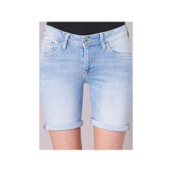 Szorty i Bermudy  Pepe jeans  BETTI SHORT. Niebieskie bermudy damskie Pepe Jeans, z jeansu. Za 231,20 zł.