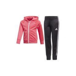 Spodnie dziewczęce: Zestawy dresowe adidas  Dres Little Girls Knitted