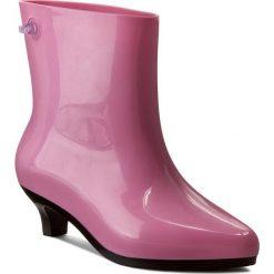 Kalosze MELISSA - Ankle Boot + Jeremy Sc 31916 Pink/Black 52208. Czerwone buty zimowe damskie Melissa, z tworzywa sztucznego. W wyprzedaży za 469,00 zł.