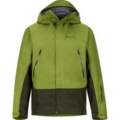"""Kurtka narciarska """"Spire"""" w kolorze zielonym. Zielone kurtki narciarskie męskie marki Marmot, m, z materiału. W wyprzedaży za 955,95 zł."""