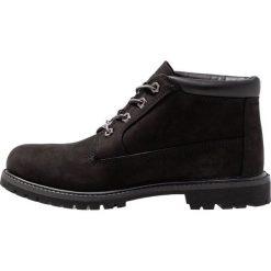 Timberland NELLIE CHUKKA DOUBLE Ankle boot black. Czarne botki damskie skórzane marki Timberland. Za 629,00 zł.