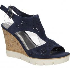 Sandały ażurowe Marco Tozzi 2-28354-28. Czarne sandały damskie Marco Tozzi, w ażurowe wzory. Za 148,99 zł.