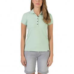 """Koszulka """"Basic"""" w kolorze turkusowym. Niebieskie bluzki damskie Timezone, xs, polo. W wyprzedaży za 68,95 zł."""