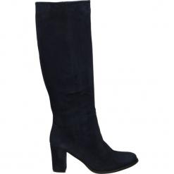 Kozaki - 7161 CAM OCEA. Czarne buty zimowe damskie Venezia, ze skóry. Za 249,00 zł.
