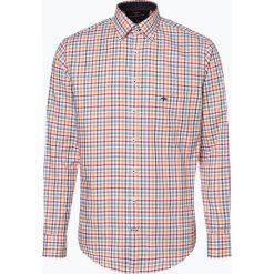 Fynch Hatton - Koszula męska, żółty. Żółte koszule męskie non-iron Fynch-Hatton, m, w kratkę, z bawełny. Za 249,95 zł.