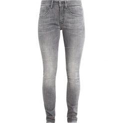 GStar 3301 MID SKINNY  Jeans Skinny Fit tricia grey superstretch. Szare jeansy damskie marki G-Star. W wyprzedaży za 375,20 zł.