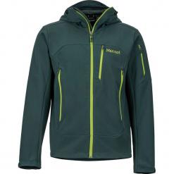 """Kurtka softshellowa """"Moblis"""" w kolorze ciemnozielonym. Zielone kurtki męskie marki Marmot, m, z materiału. W wyprzedaży za 422,95 zł."""