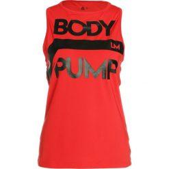 Reebok BODYPUMP ACTIVCHILL Koszulka sportowa prired. Czerwone t-shirty damskie Reebok, xl, z elastanu. Za 149,00 zł.