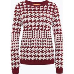 Swetry klasyczne damskie: BOSS Casual - Sweter damski z dodatkiem alpaki – Ionna, czerwony