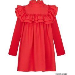 Sukienka Tiffany Red. Czerwone sukienki dziewczęce marki Pakamera. Za 160,00 zł.