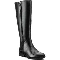 Oficerki VAGABOND - Cary 4455-001-20 Black. Czarne buty zimowe damskie marki Vagabond, ze skóry, przed kolano, na wysokim obcasie, na obcasie. W wyprzedaży za 439,00 zł.