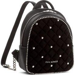 Plecak EVA MINGE - Eufemia 2G 17NN1372296EF  601. Czarne plecaki damskie Eva Minge. W wyprzedaży za 299,00 zł.
