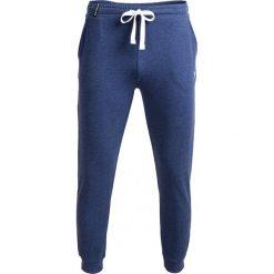 Spodnie dresowe męskie SPMD600 - denim melanż - Outhorn. Niebieskie spodnie dresowe męskie Outhorn, na lato, melanż, z denimu. W wyprzedaży za 49,99 zł.