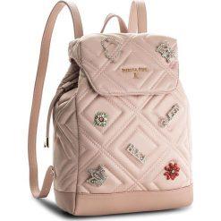 Plecaki damskie: Plecak PATRIZIA PEPE – 2V7771/A3YN-R594 Quilted Satin Rose