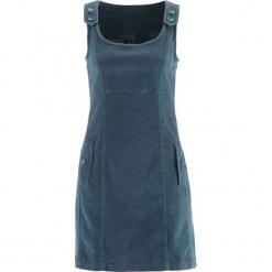 Sukienka sztruksowa bonprix matowy niebieskozielony. Fioletowe sukienki na komunię marki DOMYOS, l, z bawełny. Za 109,99 zł.