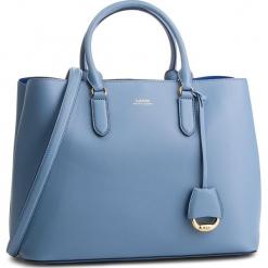 Torebka LAUREN RALPH LAUREN - Dryden 431697680012 Blue Mist. Niebieskie torebki klasyczne damskie Lauren Ralph Lauren, ze skóry. Za 1519,00 zł.